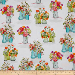 Kaufman Everyday Favorites Blossom Flowers Multi