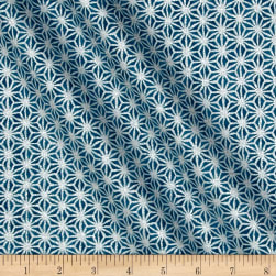 Kaufman Imperial Collection Metallic Blue Fabric