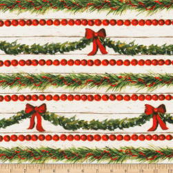 Kaufman Christmas In The Village Garland Country Fabric