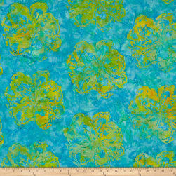 Blossom Batiks Valley Marble Flower Daffodil Fabric