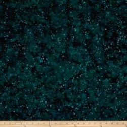 Blossom Batiks Valley Ink Dots Spruce Fabric