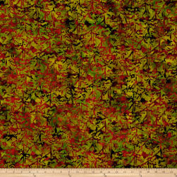 Blossom Batiks Valley Tree Top Japanese Maple Fabric