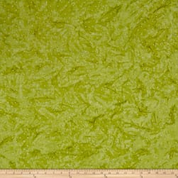 Blossom Batiks Valley Pin Dot Green Apple Fabric