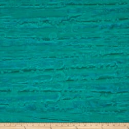 Blossom Batiks Valley River Turquoise Fabric