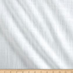 Slub Cotton Solid Duck White Fabric