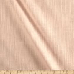 Slub Cotton Solid Peach Duck Melba Fabric