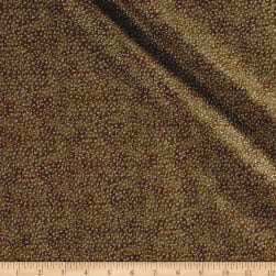 Shimmer Basics Brown Metallic Gold Fabric