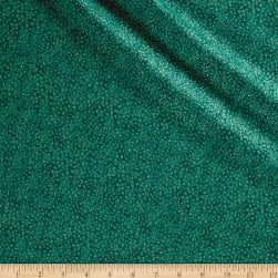 Shimmer Basics Teal Metallic Gold Fabric