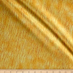 Shimmer Basics Sunglow Yellow Metallic Gold Fabric