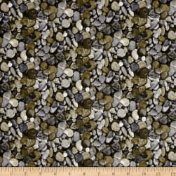 Naturescapes Basics Grey Fabric