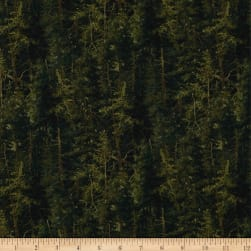 Naturescapes Basics Dk.Green Fabric