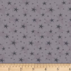 Little Witchy Wonderland Magical Stars Dirty Lavender Fabric
