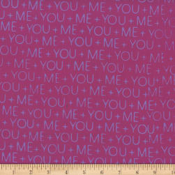 Hoffman Me + You Indah Batiks Words Gemstone