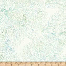 Hoffman Bali Batik From The Depths Coral Bluegrass