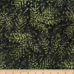 Hoffman Bali Batik All Over Leaf Ivy Fabric