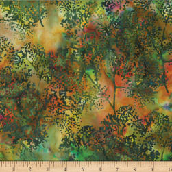 Hoffman Bali Batik Dotty Branch Jungle Fabric