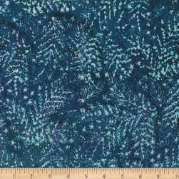 Hoffman Bali Batik All Over Leaf Flax Fabric