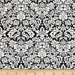 Precious Metals Dazzling Damask Glitter Radiant Pearl Fabric