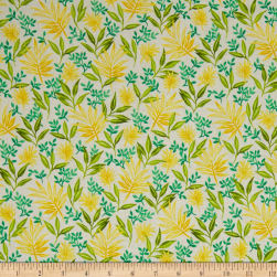 Beach Bash Fronds Forever Pineapple Fabric