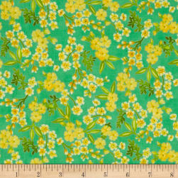Beach Bash Flower Shower Pineapple Fabric
