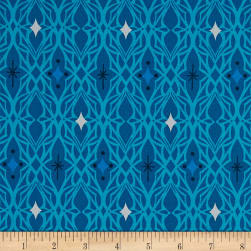 Cotton + Steel Freshly Picked Lace Blue Fabric