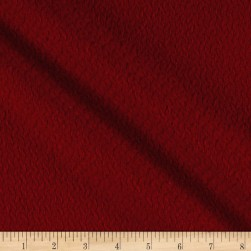 Red Solid Florencia Coating Red Fabric
