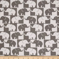 Easycare Broadcloth Tusk Grey Fabric