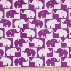Easycare Broadcloth Tusk Purple Fabric
