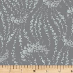 Rosette Giverny Dove Fabric