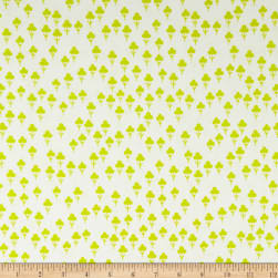 Cotton + Steel Front Yard Clovers Green Fabric