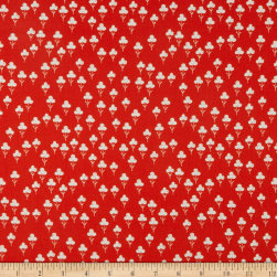 Cotton + Steel Front Yard Clovers Red