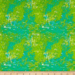 Roses & Arrows Texture Teal Fabric