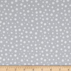 Roses & Arrows Dot Redon Grey Fabric