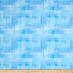 Dancing Wings Woven Ombre Light Blue Fabric