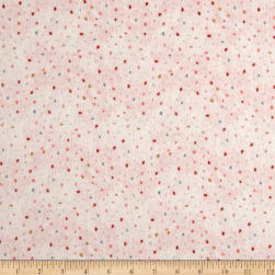 Dream Catcher'S Flannel Abstract Small Dot Pink Fabric