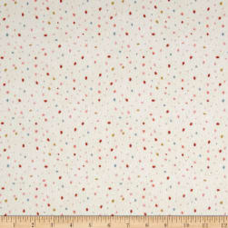 Dream Catcher'S Flannel Abstract Small Dot Cream/Multi Fabric