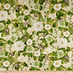 Wilmington Chantrell Large Floral Allover Tan
