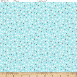 Wilmington Little Sunshine Dots Turquoise Fabric