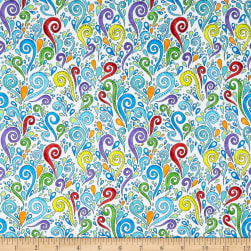 Wilmington Paradise Falls Scroll Multi Fabric