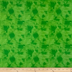 Wilmington Paradise Falls Water Texture Green Fabric