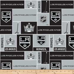 NHL Fleece Los Angeles Kings Fleece Fabric
