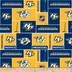 NHL Fleece Nashville Predators Fabric