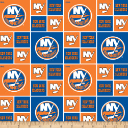 NHL Broadcloth New York Islanders Fabric