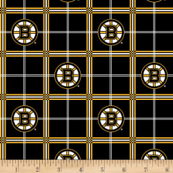 NHL Flannel Boston Bruins Fabric