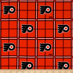 NHL Flannel Philadelphia Flyers Fabric