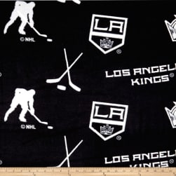 NHL Fleece Los Angeles Kings Tossed Fabric