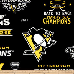 NHL Fleece Pittsburgh Penguins National Championship Fabric