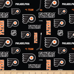 NHL Broadcloth Philadelphia Flyers Fabric