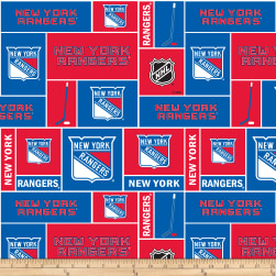 National Hockey League New York Rangers Fabric