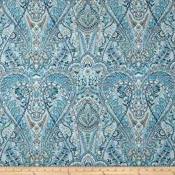 Duralee Carla BlueBasketweave Fabric